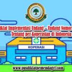 Bimtek Implementasi Undang – Undang Nomor 25 Tahun 1992 Tentang per Koperasian di Indonesia