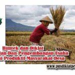 Bimtek Peningkatan Dan Pengembangan Usaha Ekonomi Produktif Masyarakat Desa