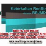 Bimtek Teknik Penyusunan Rencana Strategis Organisasi Perangkat Daerah (RENSTRA OPD)